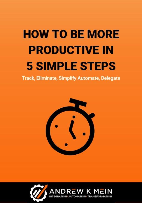 Eliminate Simplify Automate Delegate